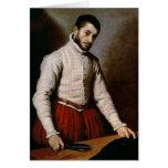 Portrait of a Man  c.1570 Card