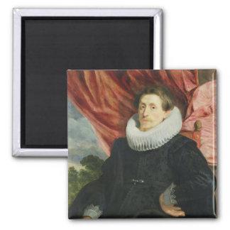 Portrait of a Man c 1619 Magnet