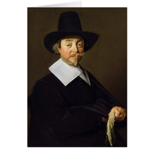 Portrait of a man, c.1643-45 card
