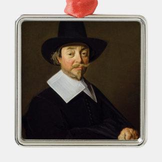 Portrait of a man, c.1643-45 metal ornament