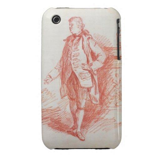 Portrait of a Man, called Edward Gibbon (1737-94) iPhone 3 Case