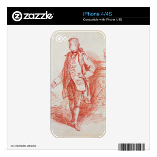 Portrait of a Man, called Edward Gibbon (1737-94) Decals For The iPhone 4
