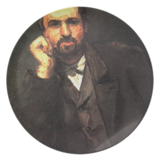 'Portrait of a Man' Dinner Plate