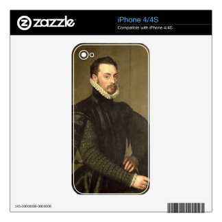 Portrait of a Man from the Retinue of Cardinal Gra iPhone 4 Skin