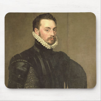 Portrait of a Man from the Retinue of Cardinal Gra Mouse Pad