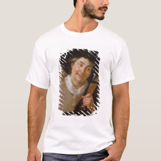 Portrait of a Man Holding a Wine Glass T-Shirt