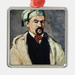 Portrait of a Man in a Blue Cap Christmas Tree Ornaments
