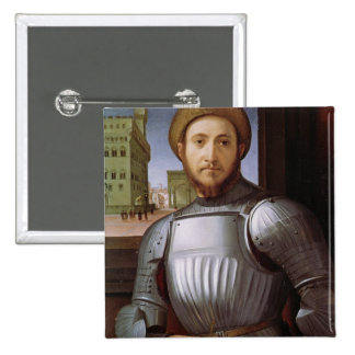 Portrait of a Man in Armour Pin