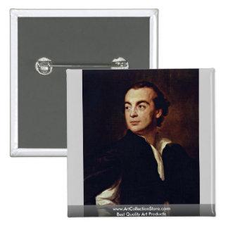 Portrait Of A Man (Johann Joachim Winckelmann?) Button