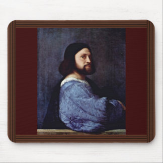 Portrait Of A Man (L'Ariosto) By Tizian Mouse Pad