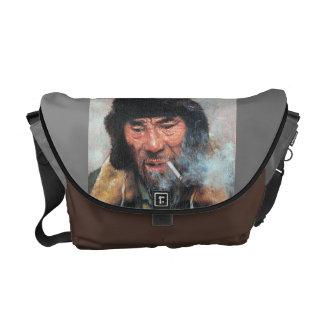 Portrait of a Man Messenger Bag