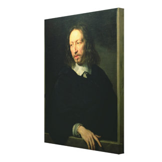 Portrait of a Man, possibly of Robert Arnauld of A Canvas Print