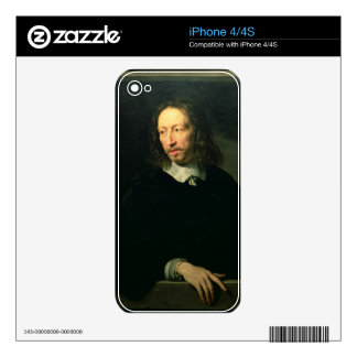 Portrait of a Man, possibly of Robert Arnauld of A iPhone 4S Decal