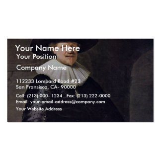 Portrait Of A Man Possibly The Poet January Business Card