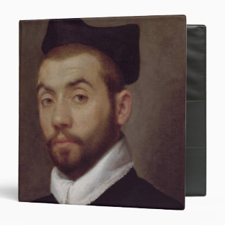 Portrait of a Man presumed to be Clement Marot 3 Ring Binders