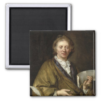 Portrait of a Man, presumed to be Francois II 2 Inch Square Magnet