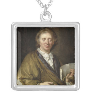 Portrait of a Man, presumed to be Francois II Silver Plated Necklace