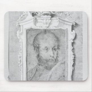 Portrait of a man presumed to be Veronese Mouse Pads
