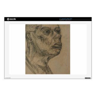 """Portrait of a Man 17"""" Laptop Decal"""