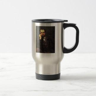 'Portrait of a Man' Travel Mug