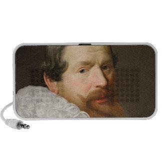 Portrait of a Man Wearing a Ruff Portable Speakers