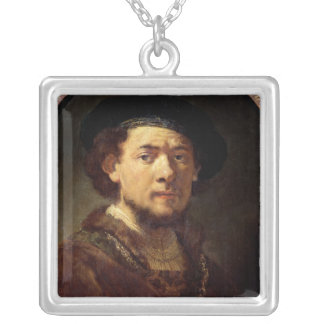 Portrait of a Man with a Gold Chain Pendants