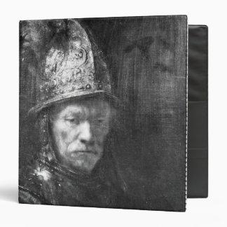 Portrait of a Man with a Golden Helmet, 1648 Binder