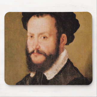 Portrait of a Man with Brown Hair, c.1560 Mouse Pad