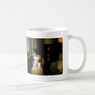 Portrait of a Manx Classic White Coffee Mug