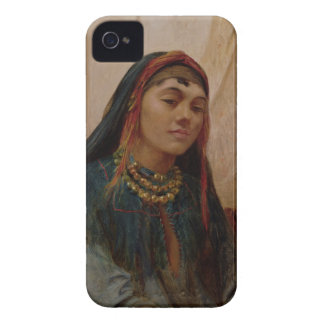Portrait of a Middle Eastern Girl, c.1859 (oil on iPhone 4 Covers