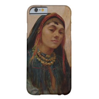 Portrait of a Middle Eastern Girl, c.1859 (oil on iPhone 6 Case