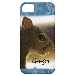 Portrait of a Mississippi Gray Squirrel /Blue Back iPhone 5 Covers