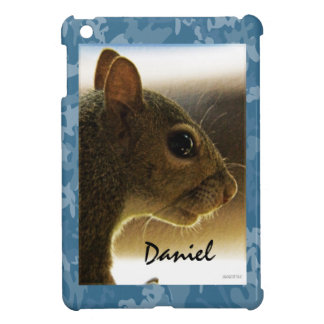 Portrait of a Mississippi Gray Squirrel /Blue Back iPad Mini Covers