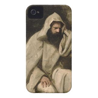 Portrait of a Monk, c.1840-45 (oil on canvas) Case-Mate iPhone 4 Case