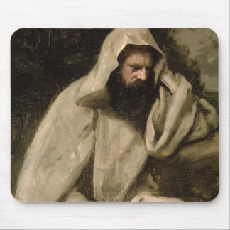 Portrait of a Monk, c.1840-45 (oil on canvas) Mouse Pad