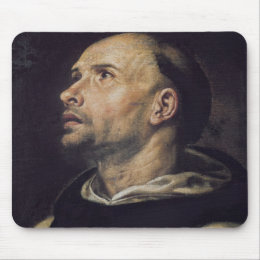 Portrait of a Monk Mouse Pad