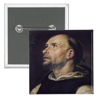 Portrait of a Monk Pinback Button