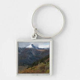 Portrait of a Mountain Keychain