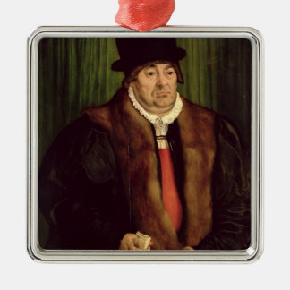 Portrait of a Munich Aristocrat, 1559 Metal Ornament