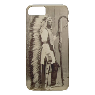 Portrait of a Native American from 'Buffalo Bill's iPhone 7 Case