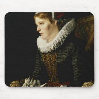 Portrait of a Noble Woman Mousepad