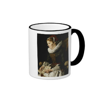 Portrait of a Noble Woman Coffee Mugs