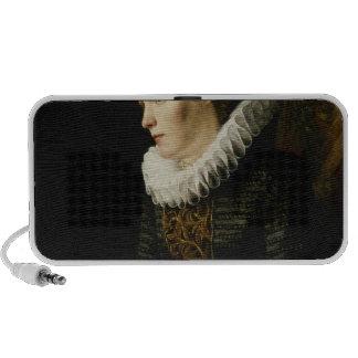 Portrait of a Noble Woman Notebook Speaker