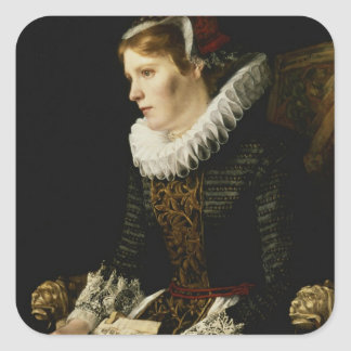 Portrait of a Noble Woman Sticker