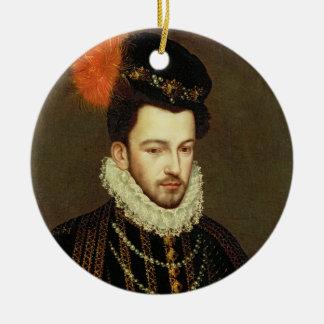 Portrait of a Nobleman 2 Ceramic Ornament