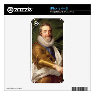 Portrait of a Nobleman in Armour Decals For The iPhone 4