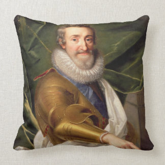 Portrait of a Nobleman in Armour Throw Pillow