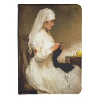 Portrait of a Nurse from the Red Cross Kindle Case