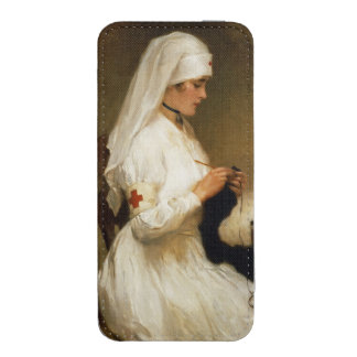 Portrait of a Nurse from the Red Cross iPhone 5 Pouch