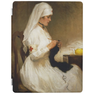 Portrait of a Nurse from the Red Cross iPad Smart Cover